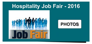 Hospitality Job Fair 2016 Photo