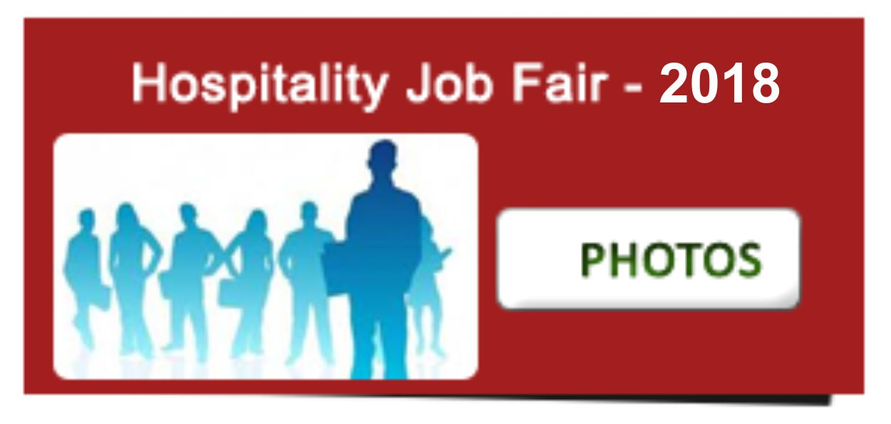 Hospitality Job Fair 2018 photos
